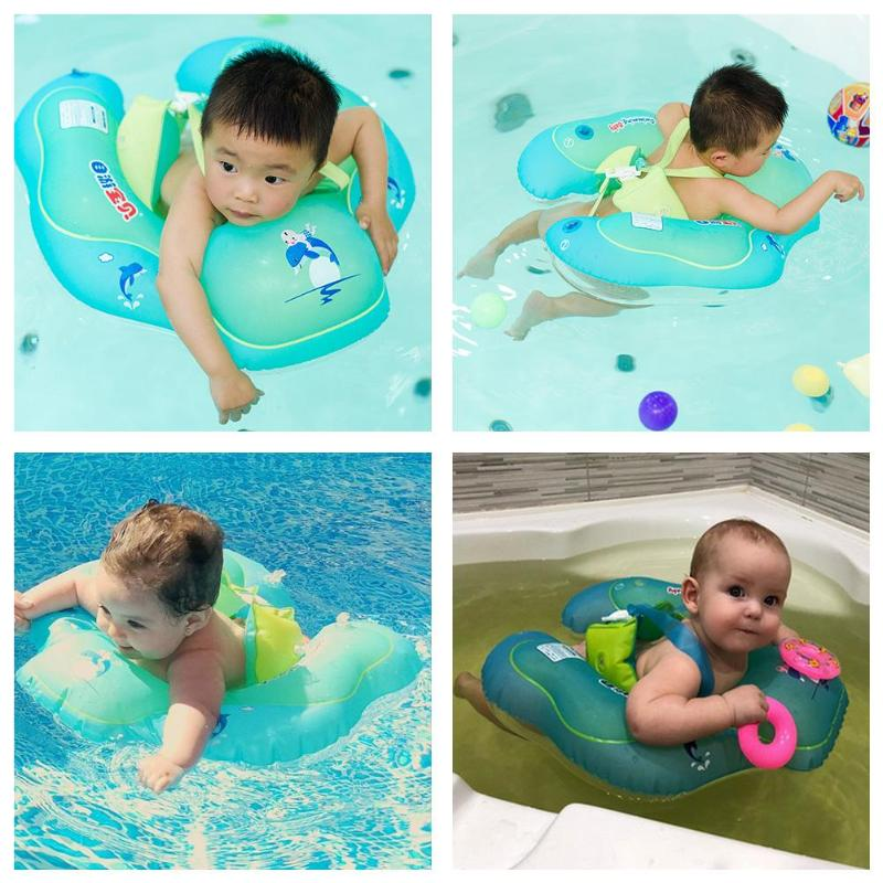 Baby Swimming Ring floating Children Waist Swim Trainer Float Circle Inflatable Floats Swimming Pool Toy for Bathtub and Pools high quality swimming pool baby swimming pools eco friendly pvc baby inflatable swim accessories water swim float necessaries