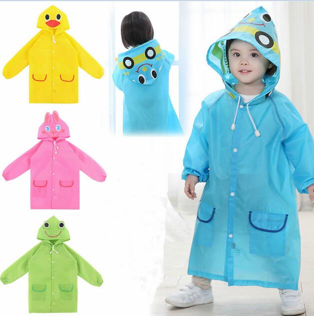 8d4ff5825 Cartoon Funny Hot Kids Rainwear Children Waterproof Cute New Baby ...