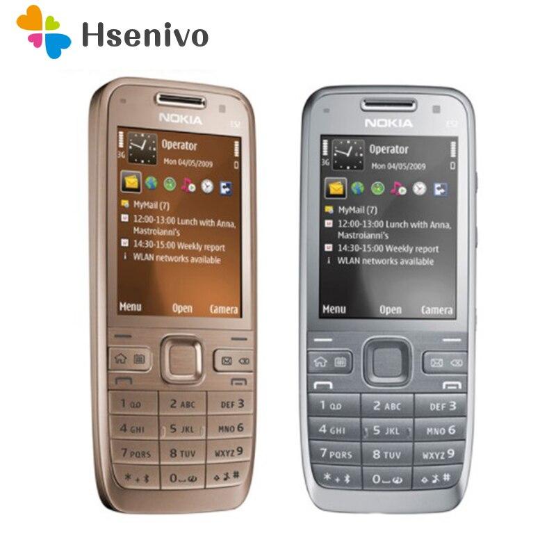 E52 Original Entsperrt Nokia E52 GSM WCDMA handy Wifi Bluetooth GPS 3.2MP Kamera Telefon renoviert