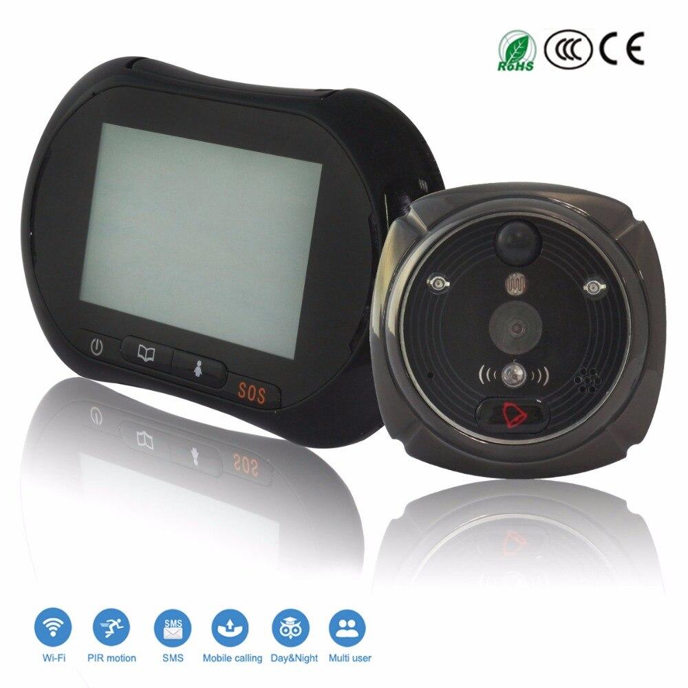 Smart WiFi 1080P Network GSM GPRS Wireless font b Camera b font SMS Alarm Video Call