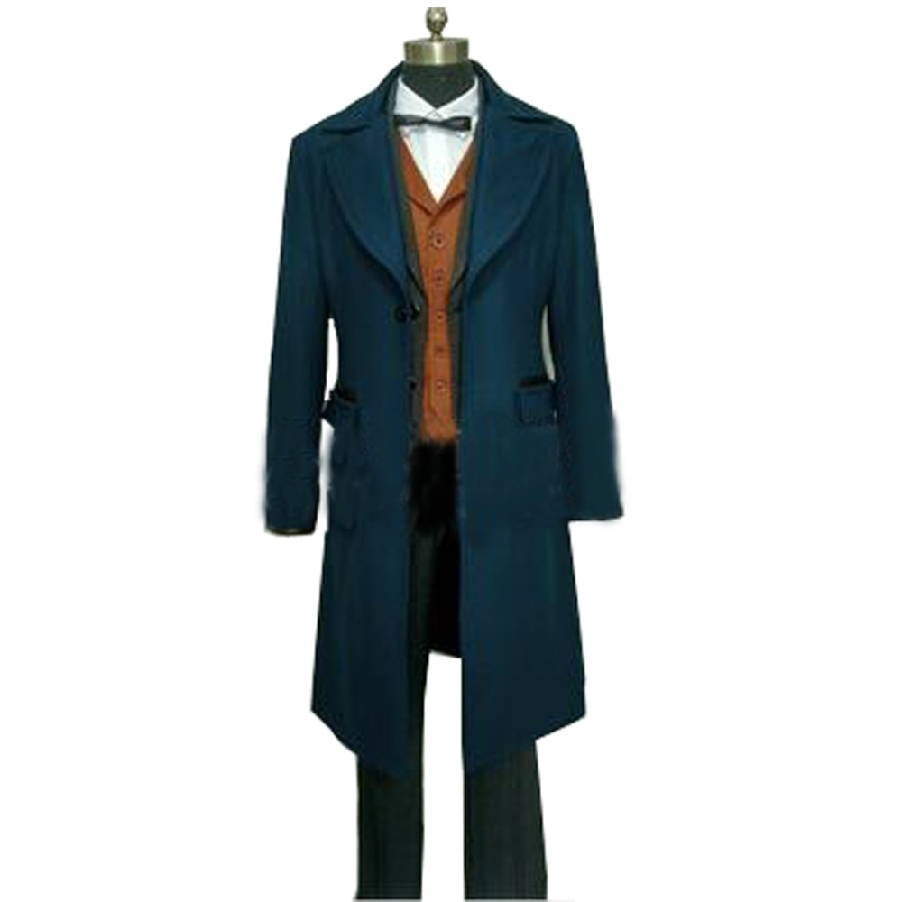 2017 Fantastic Beasts and Where to Find Them Newt Scamande Cosplay Costume Christmas Magical Cosplay Full Set