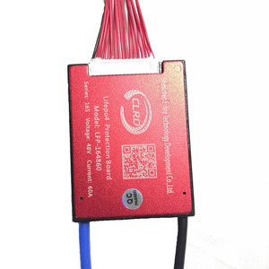 Image 5 - 16S 48V 20A 30A 40A 50A 60A  BMS Battery Management System PCM PCB for Lifepo4 Battery Pack With Balance