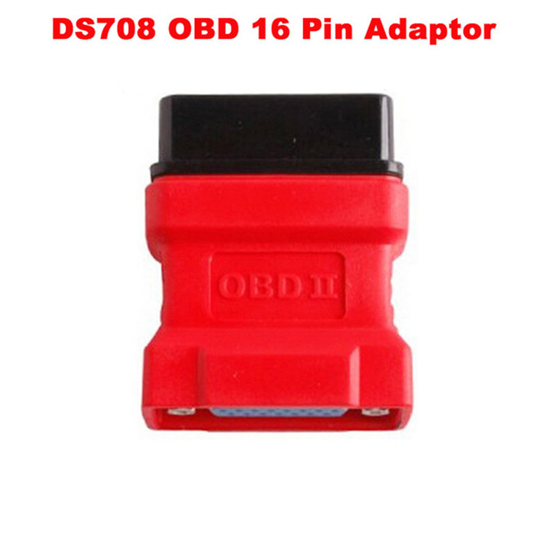 For Autel Maxidas DS708 <font><b>scanner</b></font> OBD2 <font><b>OBD</b></font> II connector 16 pin adaptor ds708 obd16 pin connector free shipping image