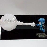 Rockman Action Figures Nendoroid Megaman X Zero Figure Cannon PVC 10CM Collectible Model Toy Mega Man +Bulb+Base