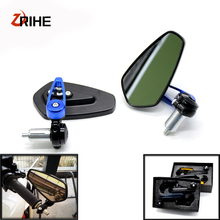 FOR 7/8 22mm handle bar Universal Pair Motorcycle Rearview Mirror Handle End Side Mirrors For Honda CBR1000RR FIREBLADE 20