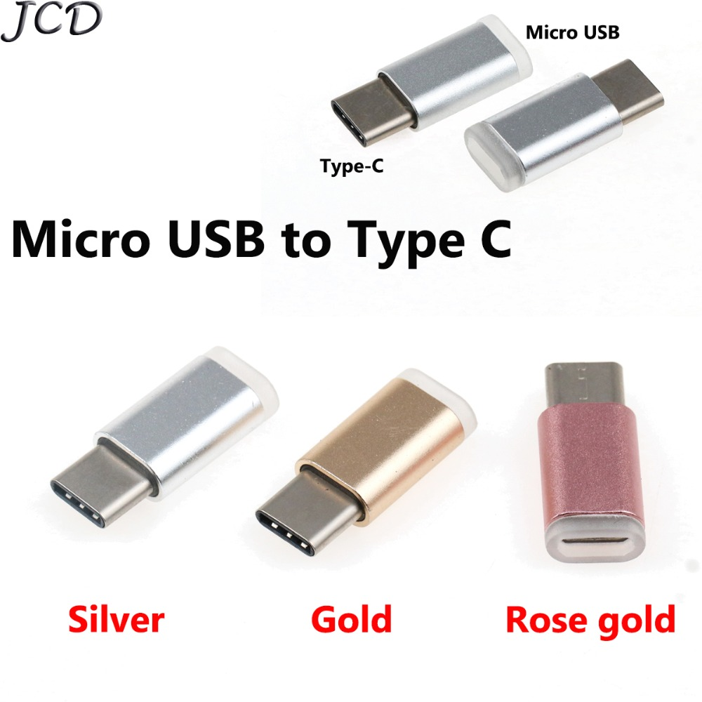 JCD USB 3.1 Type C OTG Adapter Micro USB Female Turn To Type C Male Converter For Oneplus For Samsung Galaxy Note 8 S8 Plus A5