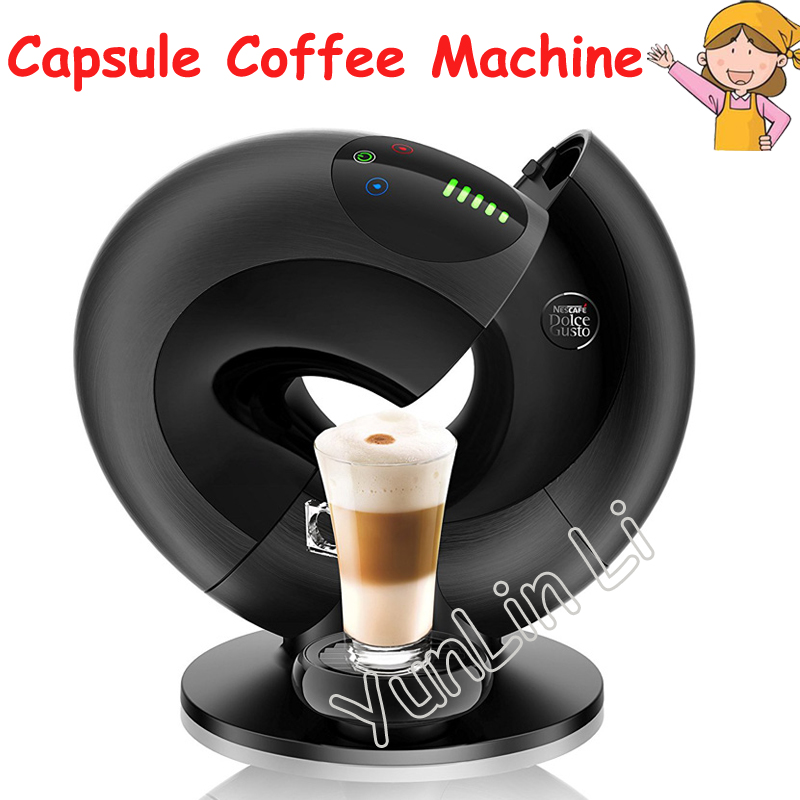Automatic Capsule Coffee Machine Intelligent Touch Capsule Coffee Machine Italian Espresso Machine EDG736 1 pc 220v en550 home automatic capsule coffee machine 19bar intelligent touch screen control capsule coffee machine