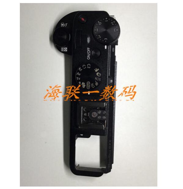 Nouveau pièces de rechange de réparation de caméra pour canon G3X couvercle supérieur