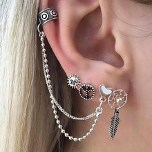 Hot Fashion Brincos New Girls Earing Bijoux Sliver Stud Earrings For Women Wedding Jewelry Earings Wholesale