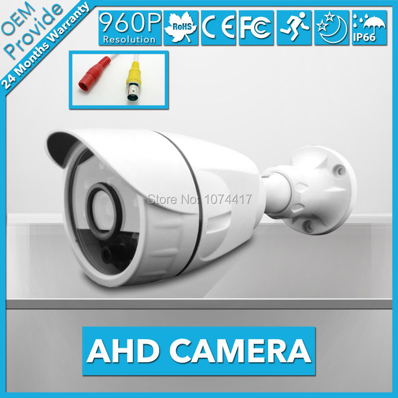 AHD3613LD-E  Free Shipping! 1.3MP 960P  Waterproof IP66  Outdoor/Indoor Bullet  AHD Camera IR Cut CCTV Security Surveillance wistino cctv camera metal housing outdoor use waterproof bullet casing for ip camera hot sale white color cover case