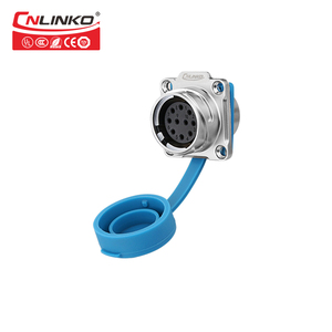 Image 5 - Cnlinko Metal Shell Medical Ship Car Electrical Plug Sockets IP67 Industrial Connector 10 Pin 10A 500V Waterproof M24 Connector
