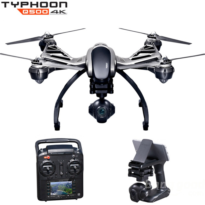 Yuneec Typhoon Q500 FPV 5.8G 10CH RC Quadcopter With 4K Camera / CGO3 3 Axis Gimbal Ultra High-Definition Resolution