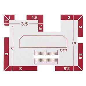 Good quality sewing ruler 25-321,templates for <font><b>drawing</b></font>,quilting ruler