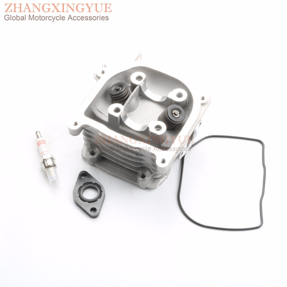 39mm-52mm NON EGR Cylinder Head Kit & A7TC Spark Plug for Beeline Veloce 50 Dynamic GT Racing GY6 50cc 139QMB 4T 39mm-52mm NON EGR Cylinder Head Kit & A7TC Spark Plug for Beeline Veloce 50 Dynamic GT Racing GY6 50cc 139QMB 4T