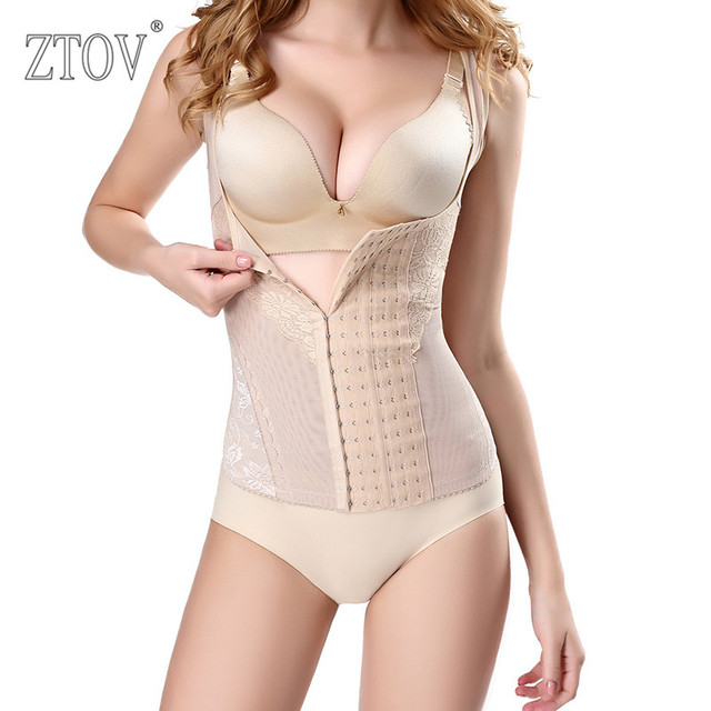 617b772018 ZTOV Postpartum Women Waist Training Corset Recovery Belly Band Abdominal  Belt Shape Underwear Abdomen Shapewear