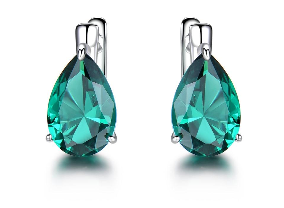 UMCHO-Emerald-925-sterling-silver-clip-earrings-for-women-EUJ086E-1-PC_02