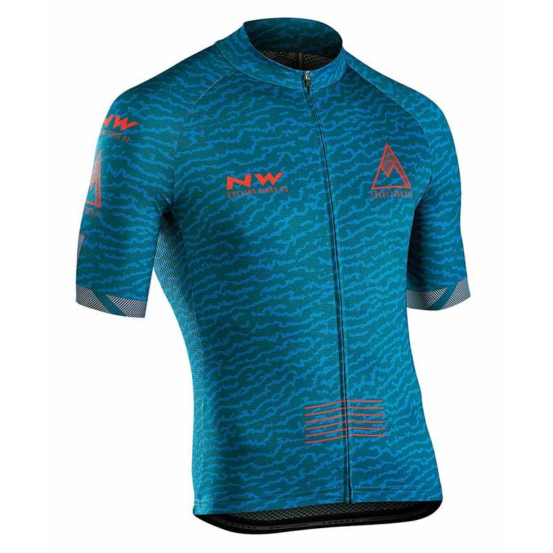 NW Top Marque Vélo Vêtements sport en plein air Vélo jersey D'été 100% Polyester VTT Vélo Usure chemise maillot ciclismo