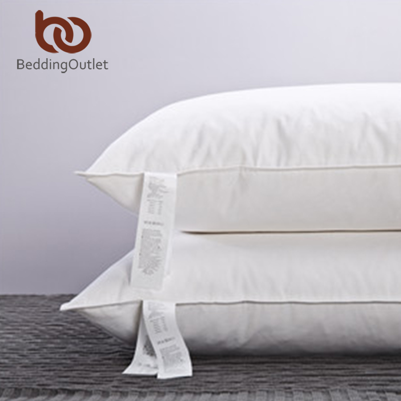 luxury feather pillows