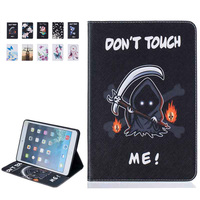 Fashion Cute Cartoon Flower Print Case Cover For Apple IPad Pro 9 7 Cases Pu Leather