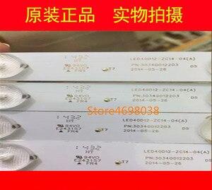 Image 2 - 4pcs/lot  Origina LED Backlight strip For LE40B3000W LED40ME1000 Light Bar 30340012203 LED40D12 ZC14 04(A)