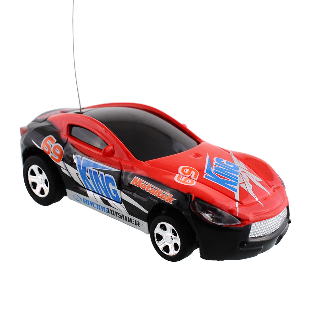 Multicolor Coke Can Mini Speed RC Remote Control Micro Car Vehicle Boy Toy Gift Good Quality