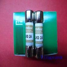 Frete grátis 10 pcs KLKD 2 new genuine Americano Littelfuse fusível/fusível 10*38 2A