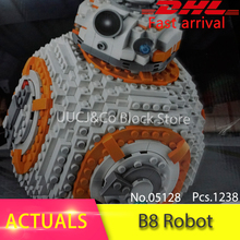 05128 El Doble de B 8 Robot Set 1238 Unids Star Classic Modelo de la serie 75187 Modelo de Bloques de Construcción Ladrillos juguetes para niños Gfit