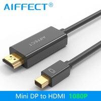AIFFECTมินิDPที่จะสายHDMI DisplayPortสายฟ้าพอร์ตHDMI 1080จุดสำหรับเครื่องMacbook Proโปรเจค
