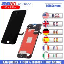 купить Screen For iPhone 8 Plus LCD Display 3D Touch Screen And Digitizer Assembly 8g 8plus Original LCD OEM Replacement AAAA Tested дешево