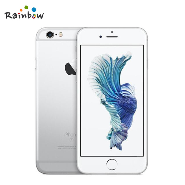 Original Apple iPhone 6s 4G LTE IOS Cellphone Dual Core 2GB RAM 4.7 inch Screen with 12MP Rear Camera 5MP Front Camera 3