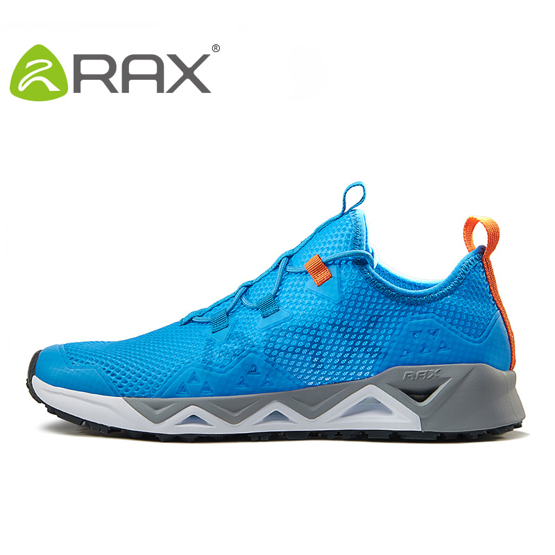 RAX 2017 Spring Summer Outdoor Running Shoes Men Light Weight Breathable Cushioning Sneakers Sport Shoes for women running shoes rax women shoes women casual shoes spring and summer breathable damping outdoor shoes b2572