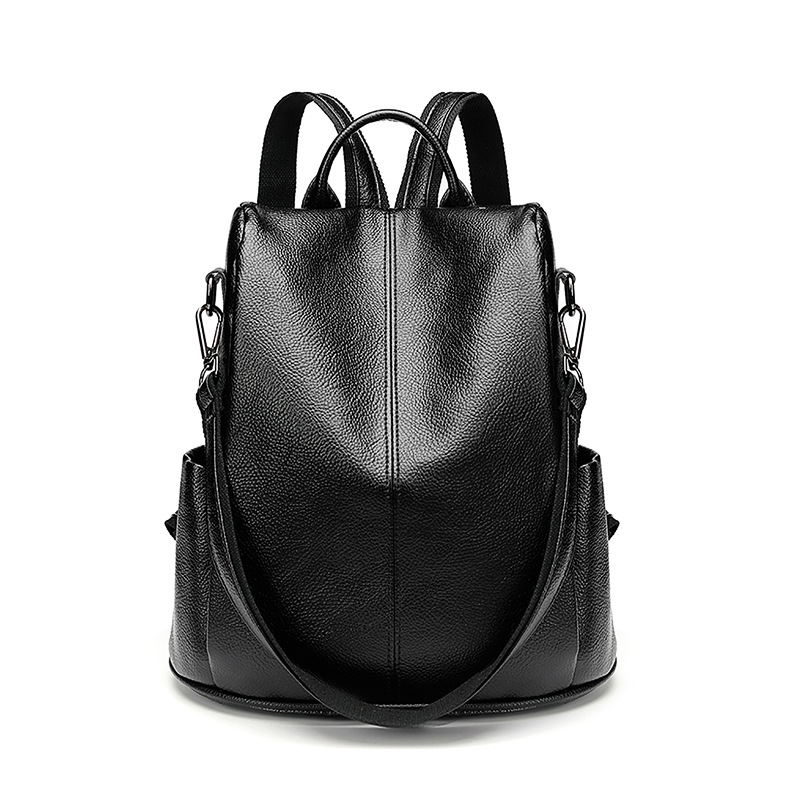 New Women Backpack Genuine Leather Bags Famous Brand Small Backpacks For Teenage Girls Leather Fashion Backpacks Female new C754