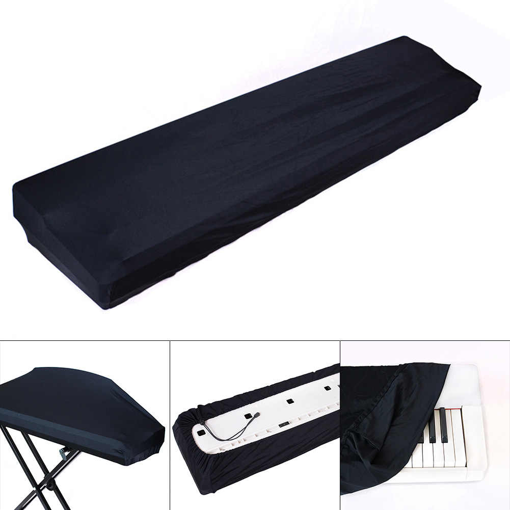 HOT Keyboard Cover Electric Digital Piano Keyboard Cover Dustproof Elastic Adjustable For 61 /73 /76 /88 Key