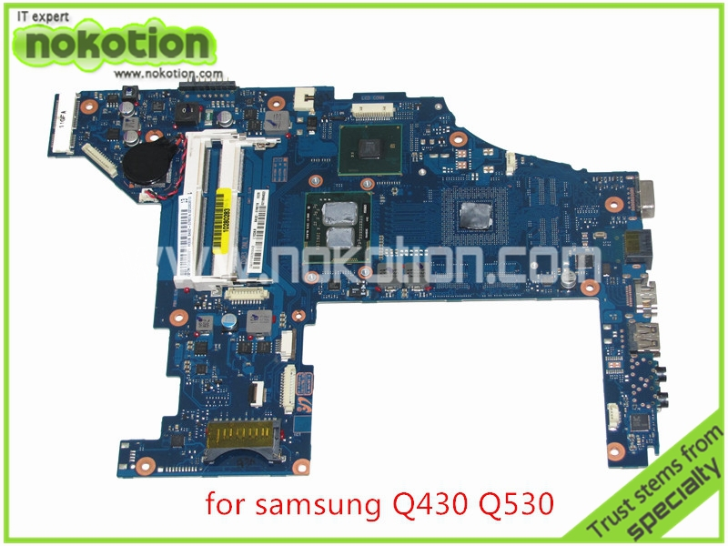 Mainboard BA92-07807A BA92-07807B For samsung Q430 Q530 Laptop motherboard intel  HM55 HD graphics i3-380M CPU DDR3 ba92 05127a ba92 05127b laptop motherboard for samsung np r60 r60 ddr2 intel ati rs600me mainboard