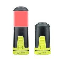 Mini Quinta Bateria Multifuncional Lâmpada Acampamento Ao Ar Livre Multifuncional Lâmpada Telescópica