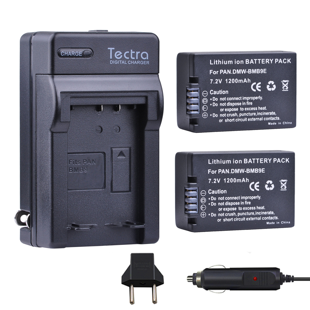 Battery Digital Us 37 15 Tectra 2pcs Dmw Bmb9 Dmw Bmb9e Dmw Bmb9pp Battery Digital Charger For Panasonic Lumix Dmc Fz40k Fz45k Fz47k Fz48k Fz60 Fz70 In Digital