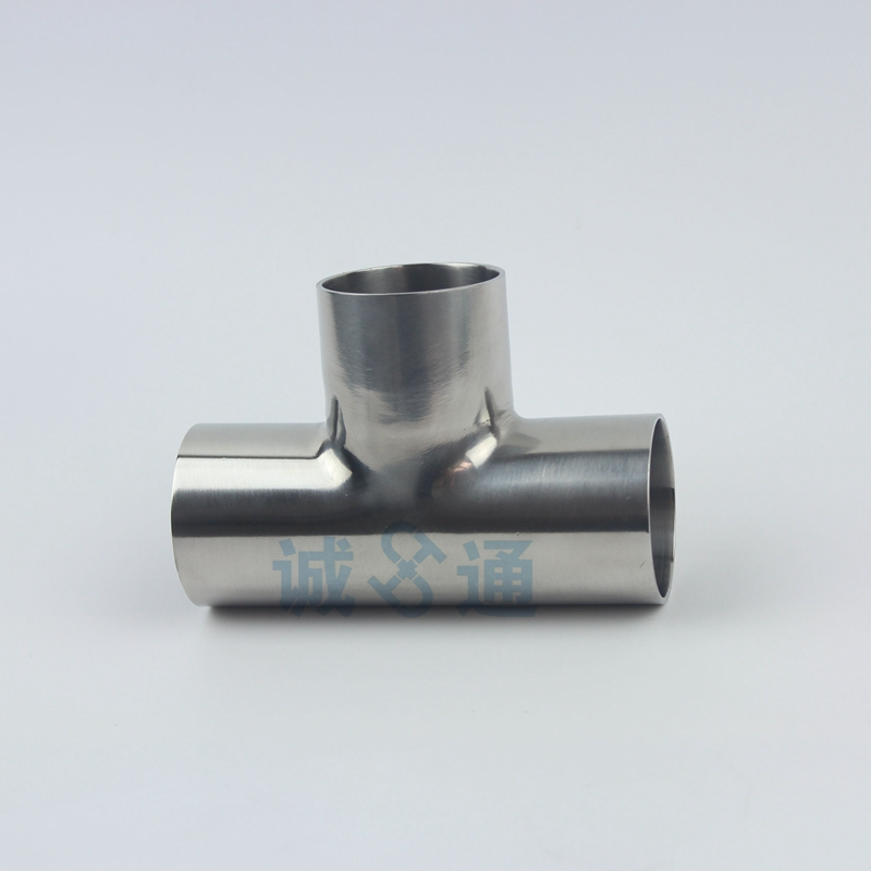Free shipping Tri Clamp 3 Way Tee, Stainless Steel 304 Sanitary Ferrule Tee Connector Pipe Fitting Tri Clamp Food pass health 273mm od sanitary weld on 286mm ferrule tri clamp stainless steel welding pipe fitting ss304 sw 273 page 3