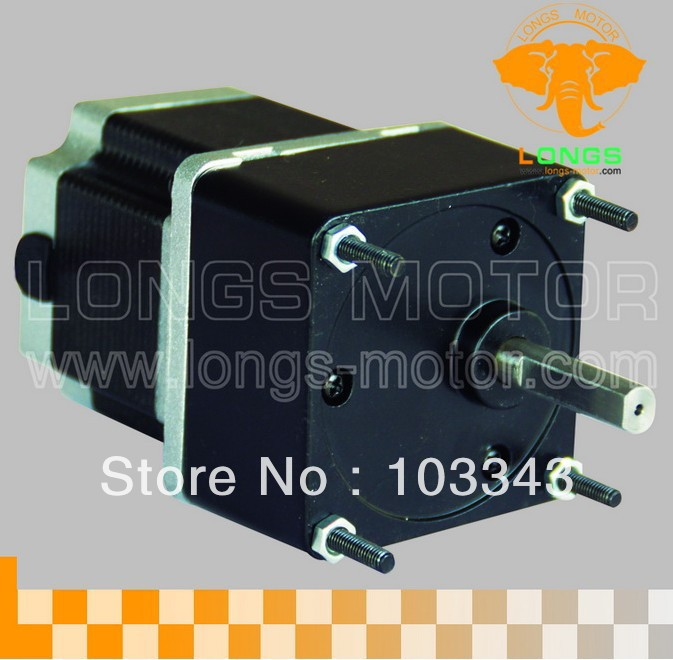 Gear motor 15:1 Ratio  Nema23 stepper motor 3000oz.in 3.0A   for CNC Router / Engraving machineGear motor 15:1 Ratio  Nema23 stepper motor 3000oz.in 3.0A   for CNC Router / Engraving machine