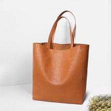 NMD  2019 Ladies Genuine Leather Bag Female Large Shoulder for Women Big Luxury Famous Brand Handbag Totes