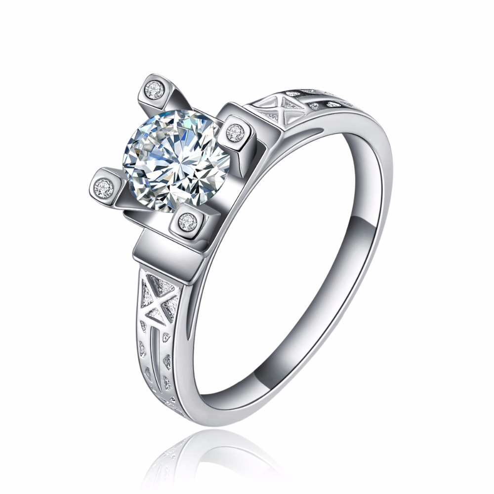 vintage wedding rings pretty wedding rings Vintage Silver Wedding Rings