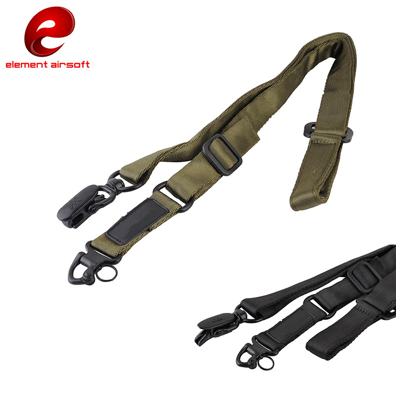 Adjustable Multi-function Two Point Tactical Rifle Sling Outdoor Nylon Gun Strap Tactical Airsoft Mount Rifle Sling CY272 my days reed camouflage car gun case bag outdoor suv seat back gun rack multi pockets truck gun sling hunting car carrier