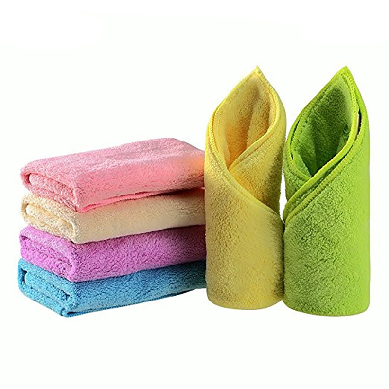 6 Pcs New 2017 Hot Sale Hand Towel Bamboo Baby Towel