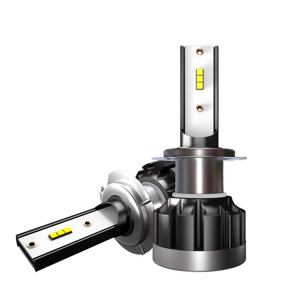 6500K H4 LED H7 H1 HB4 H11 HB3 CSP Chip Car Headlight Bulbs 72W 12000LM Car Styling 9005 9006 led automotivo