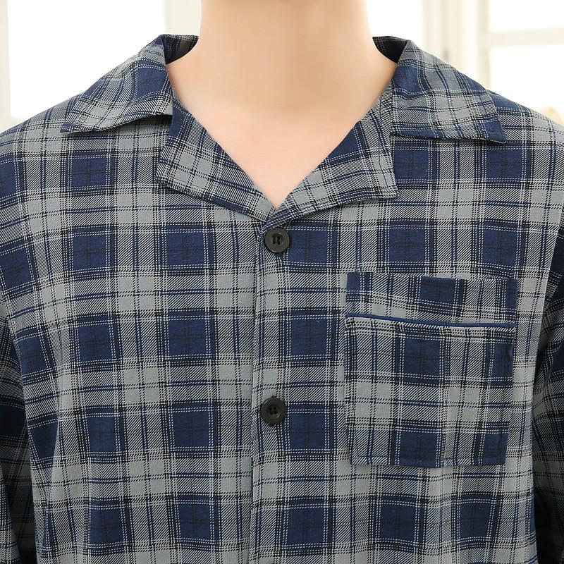 Men\'s Cotton Polyester Pajama Sets RBS-C LYQ1414 49