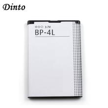 Dinto 1 PC 1500mAh BP 4L BP4L BP 4L Li Ion LITHIUM แบตเตอรี่โทรศัพท์สำหรับ Nokia E61i E63 E90 N810 e72 E52 E71 6650F