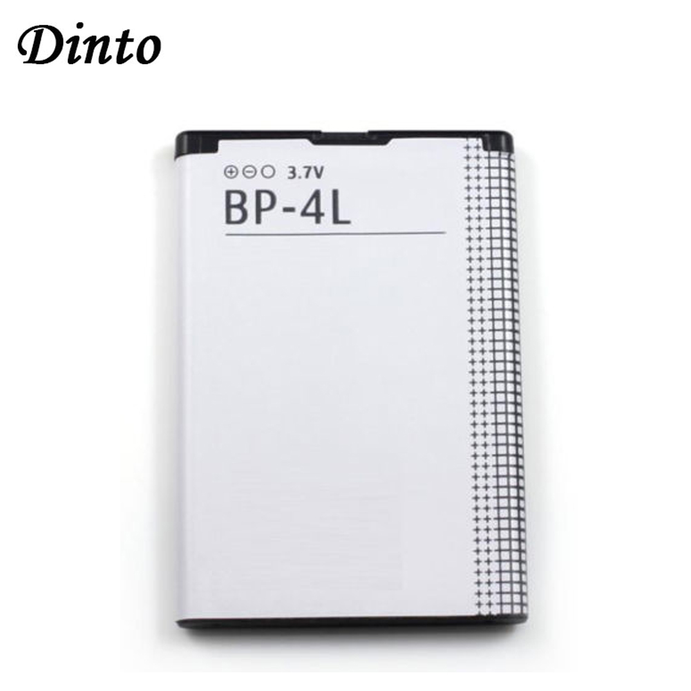 Dinto 1pc 1500mAh BP-4L BP4L BP 4L Li-ion Lithium Rechargeable Phone Battery For Nokia E61i E63 E90 N810 E72 E52 E71 6650F