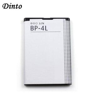 Image 1 - Dinto 1pc 1500mAh BP 4L BP4L BP 4L 리튬 이온 충전식 Nokia E61i E63 E90 N810 E72 E52 E71 6650F