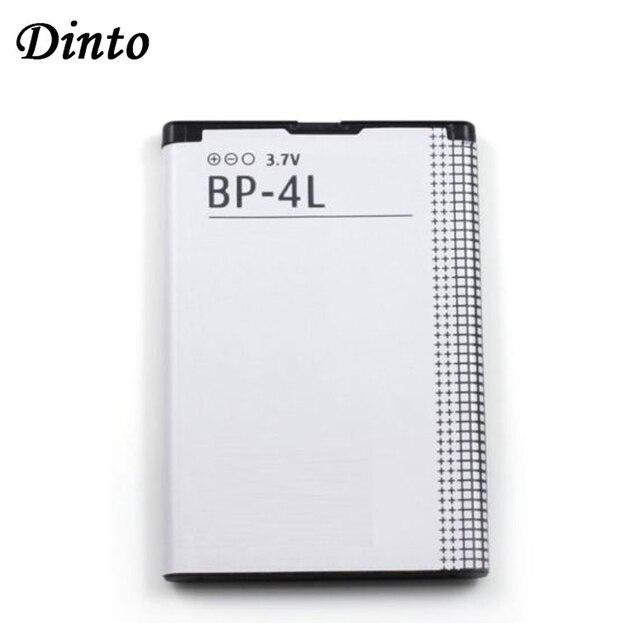Dinto 1pc 1500mAh BP 4L BP4L BP 4L 리튬 이온 충전식 Nokia E61i E63 E90 N810 E72 E52 E71 6650F