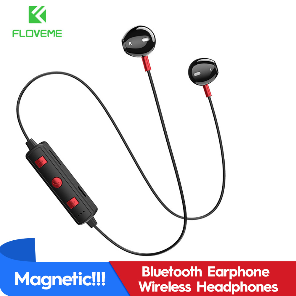 FLOVEME Bluetooth Wireless Earphone For iPhone 7 8 X XS MAX XR Bluetooth Headset Stereo Headphone For Samsung J5 J7 for Huawei