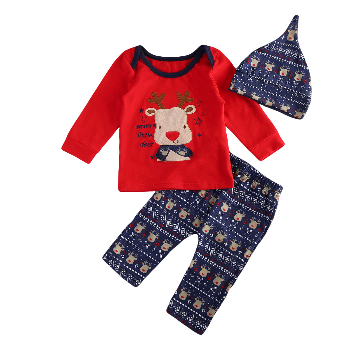 Canis 2017 Newborn Baby Boy Girl Bear Autumn Clothes Red T ...